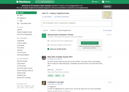 Nextdoor.com: Social Networking for Neighborhoods