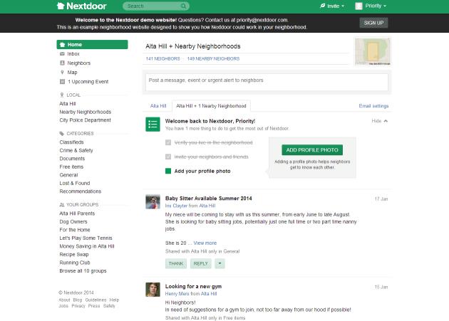 Nextdoor.com: Social Networking for Neighborhoods