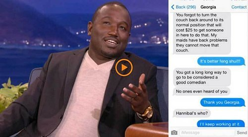 HANNIBAL BURESS VS THE LANDLORD FROM HELL