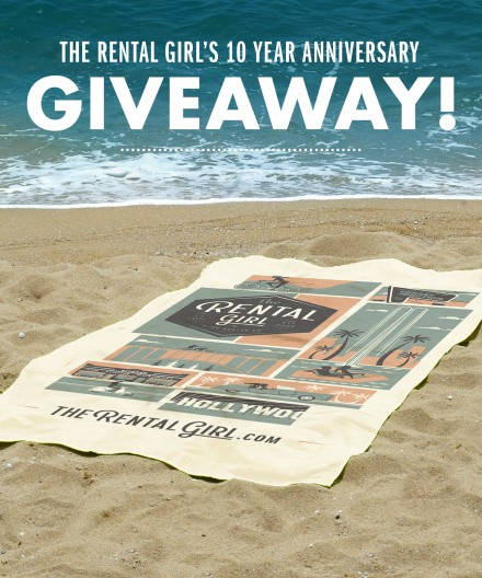 Just in Time for Summer! We're Giving Away 100 Beach Towels!