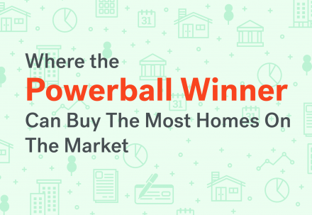 WHERE THE POWERBALL WINNER CAN BUY THE MOST REAL ESTATE