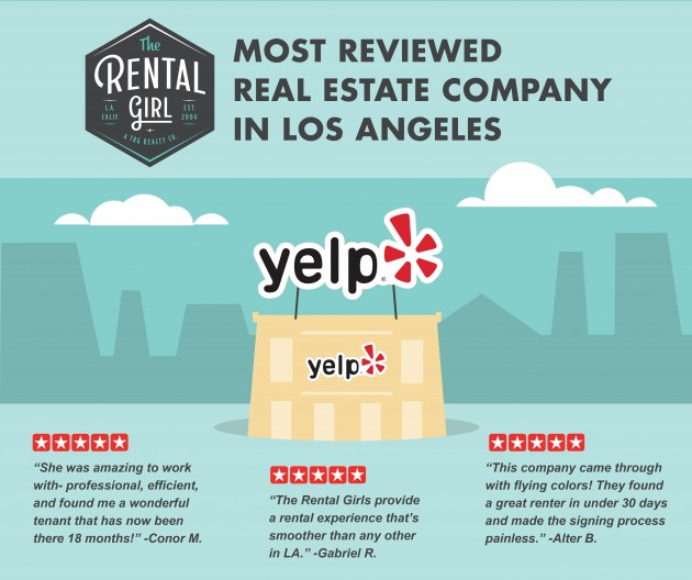 MOST YELP REVIEWED REAL ESTATE COMPANY IN LA!