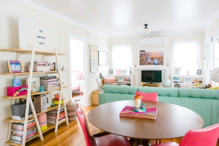 WHIMSICALLY, COLORFUL HOUSE TOUR IN PASADENA