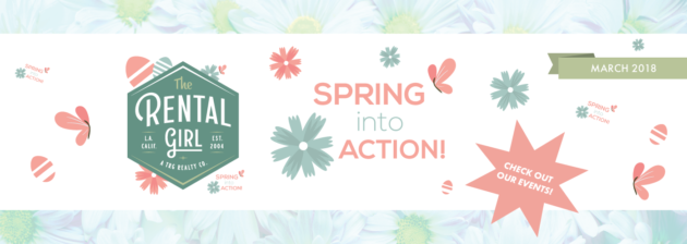 The Rental Girl's  ?Spring Into Action!? What's in Store for March ?