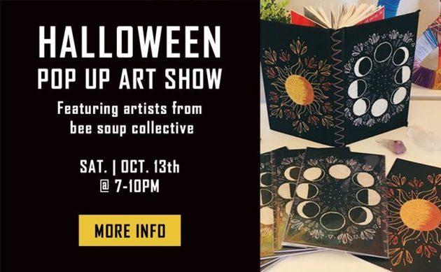 THE RENTAL GIRL PRESENTS: HALLOWEEN POP UP ART SHOW