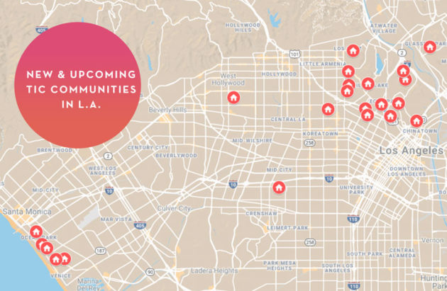 Interactive Map of TIC Communities in Los Angeles