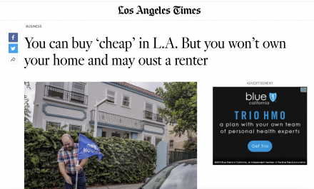 LA Times Talks Tenants in common (TIC), Misses the Mark